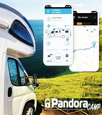 Pandora Camper Wohnmobil Alarmanlage Nachrüstung in Berlin